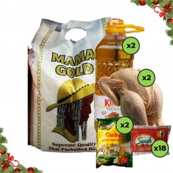 Family Awoof Christmas Rice Combo